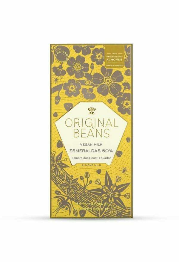 original beans vegan almond milk esmeraldas 50